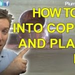 FITTING A TEE ONTO COPPER PIPE – MULTIPLE WAYS – Plumbing Tips