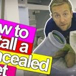 HOW TO FIX A CONCEALED TOILET – Plumbing Tips